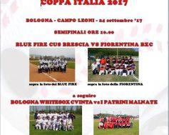 Locandina semifinale e finale di Coppa Italia 2017
