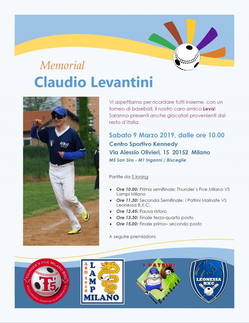 Memorial Claudio Levantini